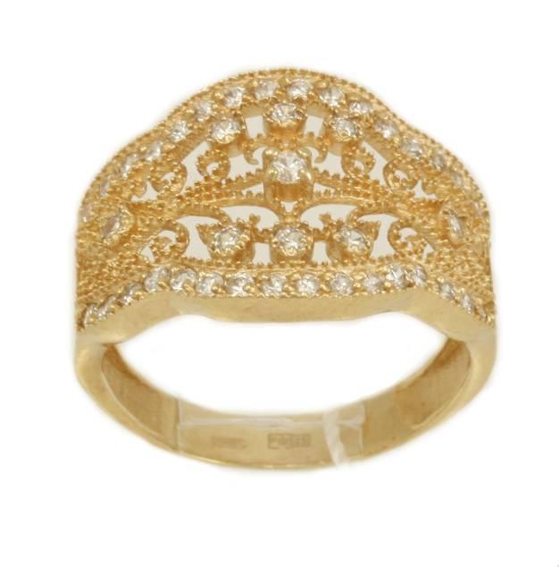 Каталог Золотое кольцо Бесконечность ZT-700299 от магазина Arcanite 04fa7fe3cff