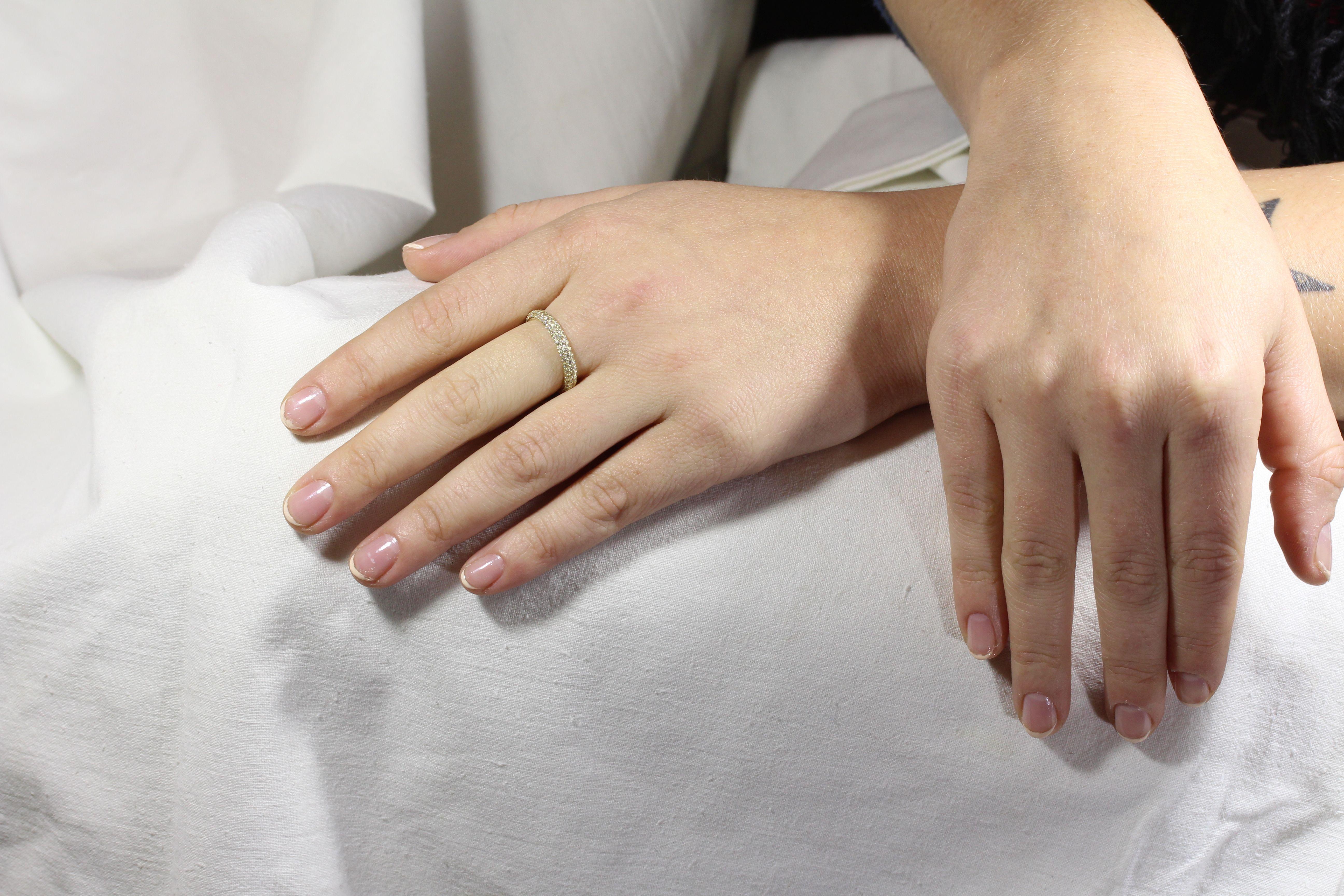 Каталог Золотое кольцо с фианитами ZT-700241 от магазина Arcanite 01d0362917c